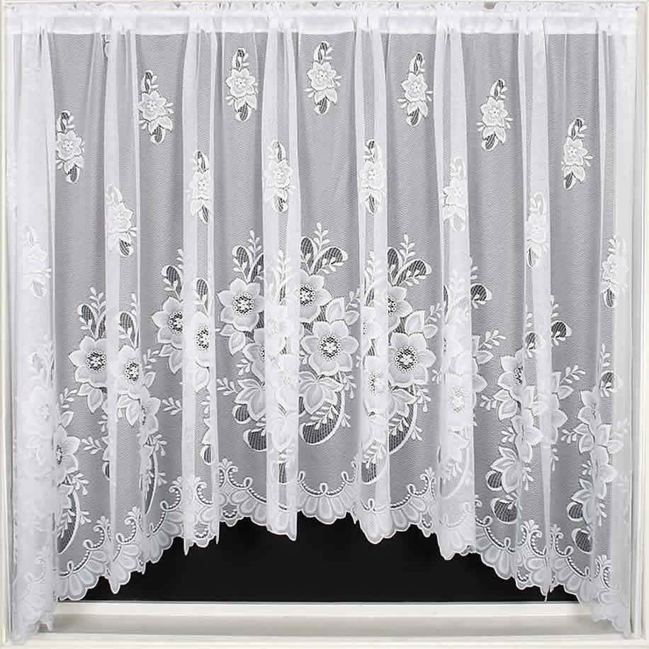 Net Curtains Jardinieres, Lace Curtain Panel, Ready To
