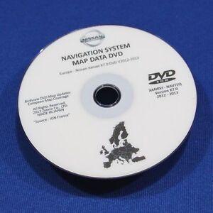Nissan Sat Nav Dvd Gps Dvd Rom For Nissan Cars Ebay