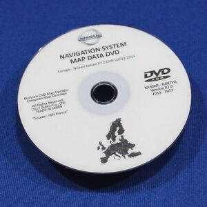 SALE ! Nissan Sat Nav 2013 DVD Disc Qashqai Xtrail Murano Patrol Pathfinder X7.0