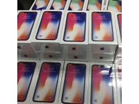IPHONE X 256GB UNLOCKED BRAND NEW SEALED BOX ONE YEAR APPLE WARRANTY OPEN ON ALL NETWORKS