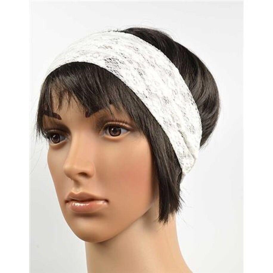 Stirnband für Haare Spitze Haarband elastisch Stretch yoga 3 Farben