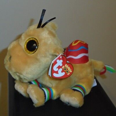 Ty Beanie Boos - Jamal The Camel (6 Inch)(UAE Exclusive Tag Version) NEW MWMT
