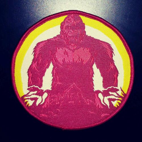 PATCH - King Kong - woven patch - kaiju movie monster horror, iron on Godzilla