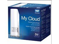 my cloud 3tb NEW SEALED storage cloud
