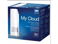 MyCloud 3tb Brand NEW sealed and boxed