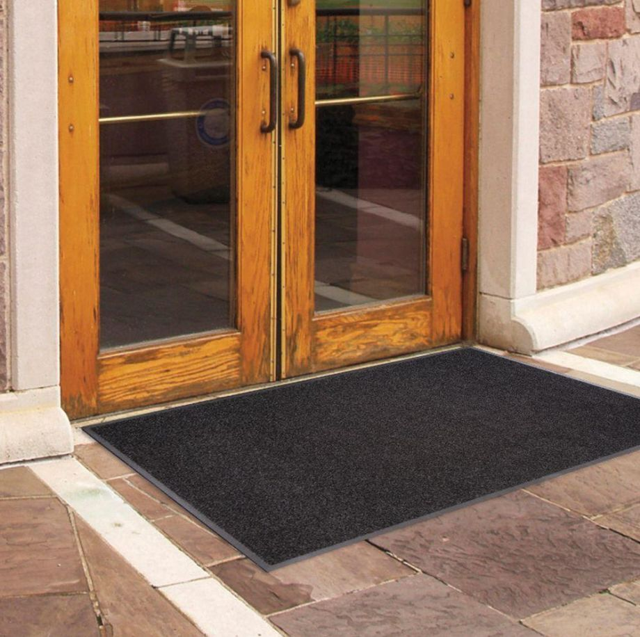 3 x 5 Ft. Commercial Black Indoor Outdoor Entrance Floor Mat