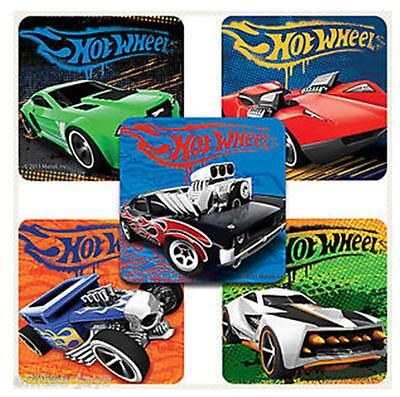 25 Assorted Classic Hot Wheels Stickers, 2.5