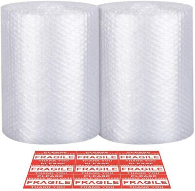 72 Ft X 12 Plastic Bubble Shipping Wrap Cushioning Padding Packing Roll