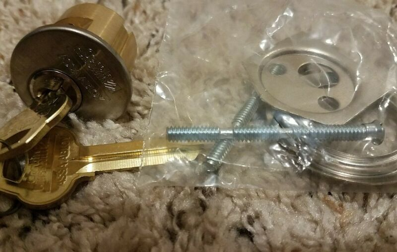 CORBIN RUSSWIN 6-Pin w/ Mortise Cylinder Housing + Op/Ctl Keys brand new in box
