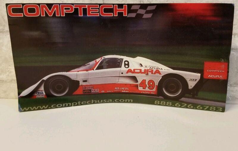 Comptech Sport USA Flyer Advertisement Import Acura Honda NSX Racecar SCCA IMSA