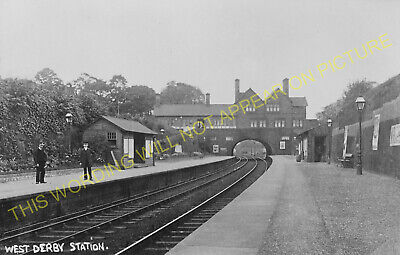 West Derby Railway Station Photo. Liverpool - Knotty Ash. Cheshire Lines. (2)