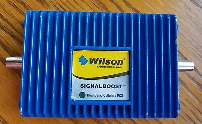 Wilson Signalboost Dual Band Cellular   Pcs  800 1900 Mhz Signal Booster 811210