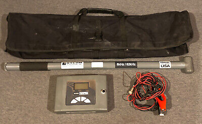Rycom The Stick 8 Khz82khz And 8859 Transmitter Cable Pipe Locator W Case
