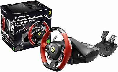 Thrustmaster Ferrari 458 Spider racing wheel for Xbox one console