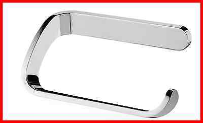 ORIGINAL Toilet Roll Holder Bisk Natura 04312 Chrome Bathroom RedDotDesign Award