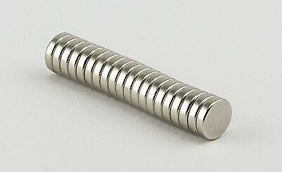 20 x Neodym Magnete 8 x 2 mm Super Magneten Minimagnete Büro Pinnwand