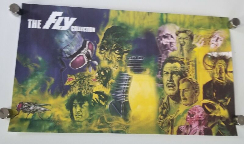 """The Fly Collection - SHOUT SCREAM FACTORY LITHOGRAPH 28.5"""" X 16.5"""" Poster movie"""
