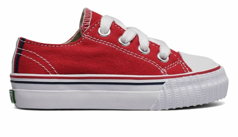PF Flyers Infant Center Lo Shoes Red Size