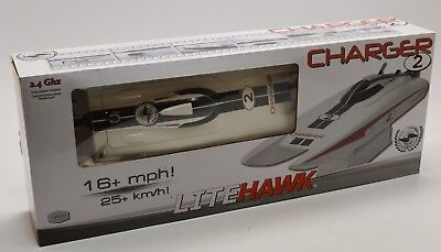 Litehawk Charger 2 Remote Control Racing Speed Boat 16 MPH Store Display