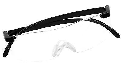 Lupenbrille Vergrößerungsbrille 160 180 Vergrößerung Zauberbrille Kopflupe