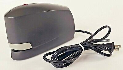 Automatic Electric Desktop Industrial Stapler Bostitch Model 02210 Black Gray