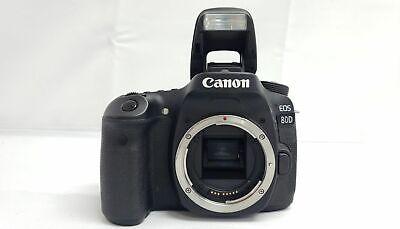 Canon EOS 80D 24.2MP DSLR Camera Body Black