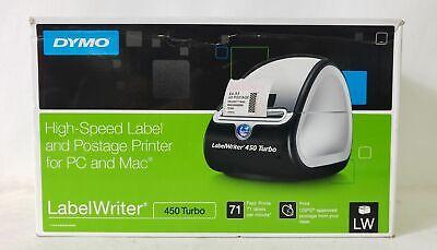 Dymo Labelwriter 450 Turbo Usb 71lpm Max 2.31in Pc/Mac