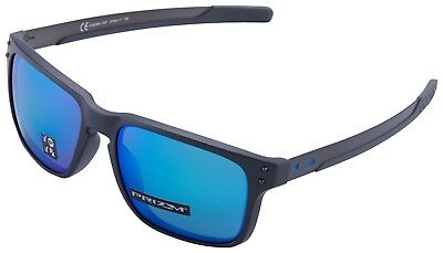 Oakley Holbrook Mix Sunglasses OO9384-1057 Steel | Prizm Saphire Polarized Lens