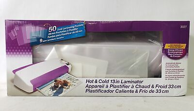 Purple Cows Hot And Cold 13 Laminating Pockets 50 Count