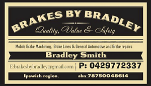 MOBILE BRAKE MACHINING BUSINESS IN THE IPSWICH REGION Willowbank Ipswich City Preview