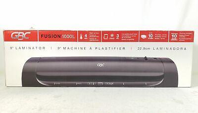 Gbc Fusion 1000l 9 Thermal Laminator Plastifier Machine Black