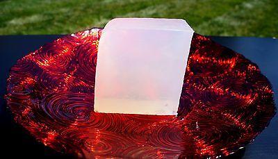ULTRA CLEAR TRANSPARENT ORGANIC GLYCERIN MELT & POUR SOAP BASE 100% PURE 2 LB