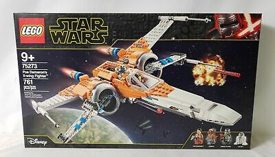 New Seal LEGO Star Wars 75273 Poe Dameron's X-wing Fighter Set 761Pcs Ship Fast