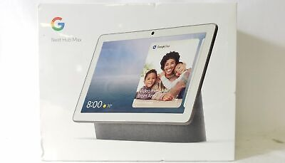 """Google Nest Hub Max 10"""" Voice-Activated Touch Smart Assistant Charcoal"""
