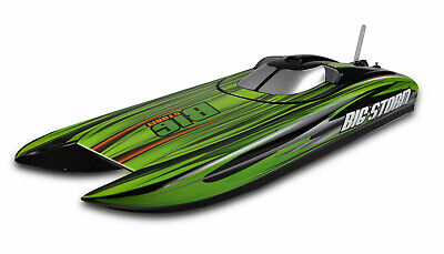XTC RC Barco de Carrera Big Storm 60 + Km/H Brushless Joysway Catamaran Lancha