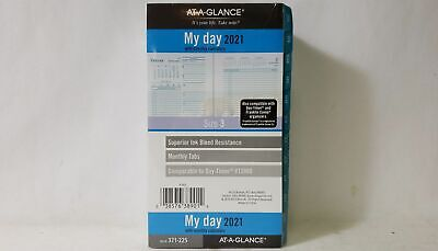 At-a-glance 3-34 X 6-34 Seascapes Dailymonthly Refill Planner Size 3