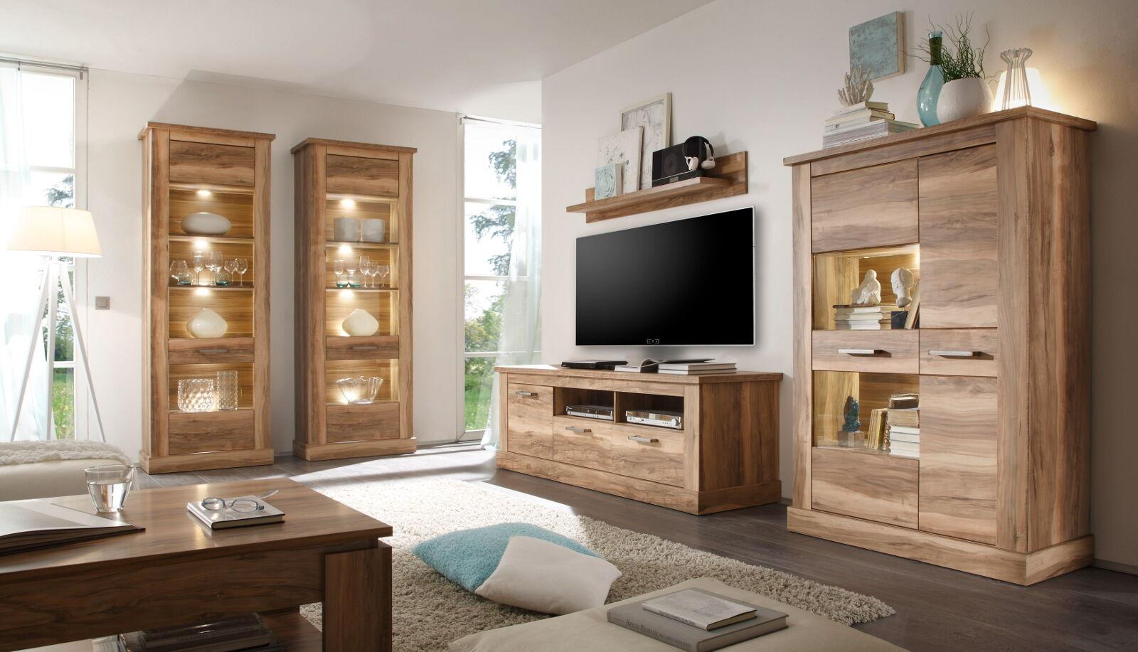 couchtisch beistelltisch nussbaum satin wohnzimmer holz tisch m bel ablage boom eur 87 49. Black Bedroom Furniture Sets. Home Design Ideas