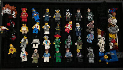 LEGO LOT OF RANDOM MINIFIGURES W/ ITEMS GREAT VARIETY PEOPLE TOWN SPACE MORE