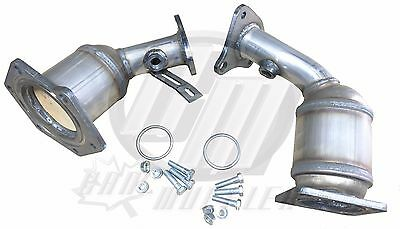 Fits Nissan Murano 3.5L Bank1 & Bank1 Manifold Catalytic Converters 2008-2012 (2009 Nissan Murano Bank 1 Catalytic Converter)