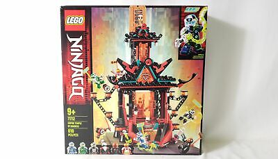 Lego Ninjago Empire Temple Of Madness Building Toy Set 810 pcs 71712