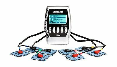 Compex Edge Electronic Muscle Stimulator Kit with Easy Snap Performance Elect...