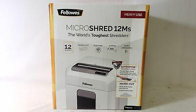 Fellowes CRC46300 Microshred 12Ms Micro-Cut Shredder
