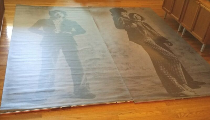 ROLLING STONES MICK JAGGER KEITH RICHARDS Two Huge 8