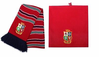 BRITISH LIONS TOUR 2017 - BNWT - OFFICIAL SCARF & COWL/SNOOD- CANTERBURY - SLI
