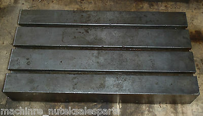 26 X 14 X 4-12 Tall Steel T-slotted Table Layout Welding Weld Sub T-slot
