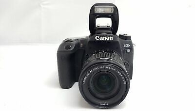 Canon EOS 77D 24.2MP DSLR Camera with EF-S 18-55mm IS STM Lens