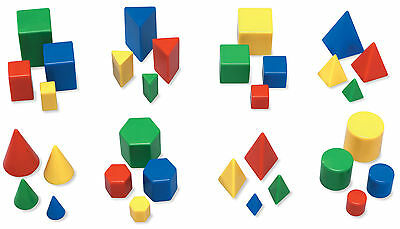 Learning Resources Mini GeoSolids Box of 32 LER0913
