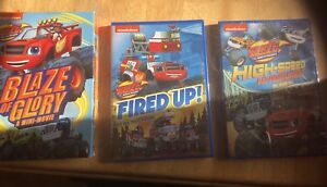 Blaze and The Monster Machines DVDs - Unopened
