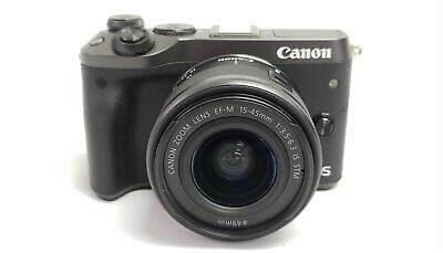Canon EOS M6 24.2MP Mirrorless Digital Camera with EF-M 15-45mm IS STM Lens
