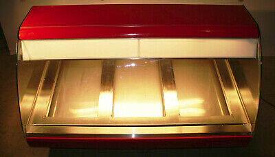 Hussmann 48 Countertop Bakery Warming Case Curved Glass Hot Display Showcase